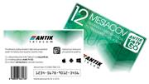ANTIK TV GO voucher 12 mesiacov mobilná televízia