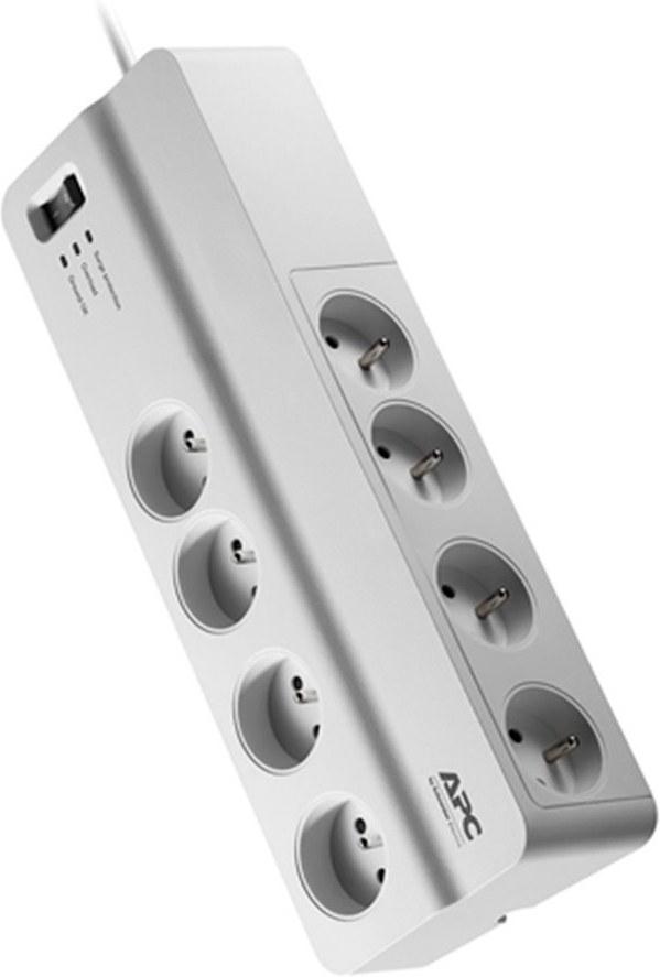 APC Essential SurgeArrest - prepäťová ochrana 8 zás., 2m prívodný kábel