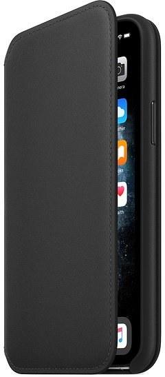 Apple flipové puzdro pre iPhone 11 Pro, čierne
