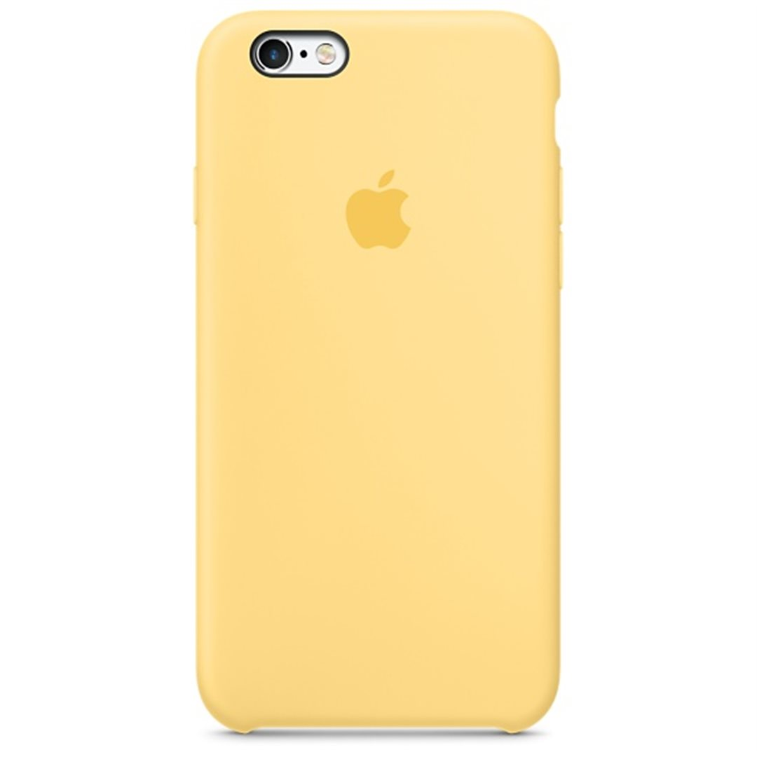 Apple iPhone 6 6S Silicone Case Yellow MM662ZM A  eec3eea3530