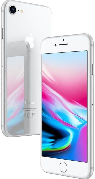 Apple iPhone 8, 64GB, strieborný