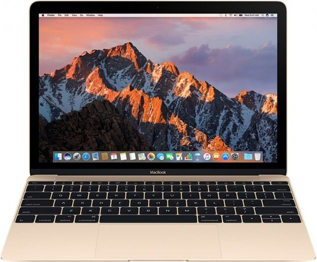 """Apple MacBook, 12"""", Retina, Core i5, 512 GB SSD, zlatý"""