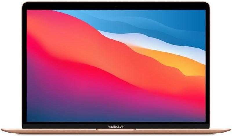 Apple MacBook Air 13'' M1, 8GB, 512GB, zlatý, SK klávesnica