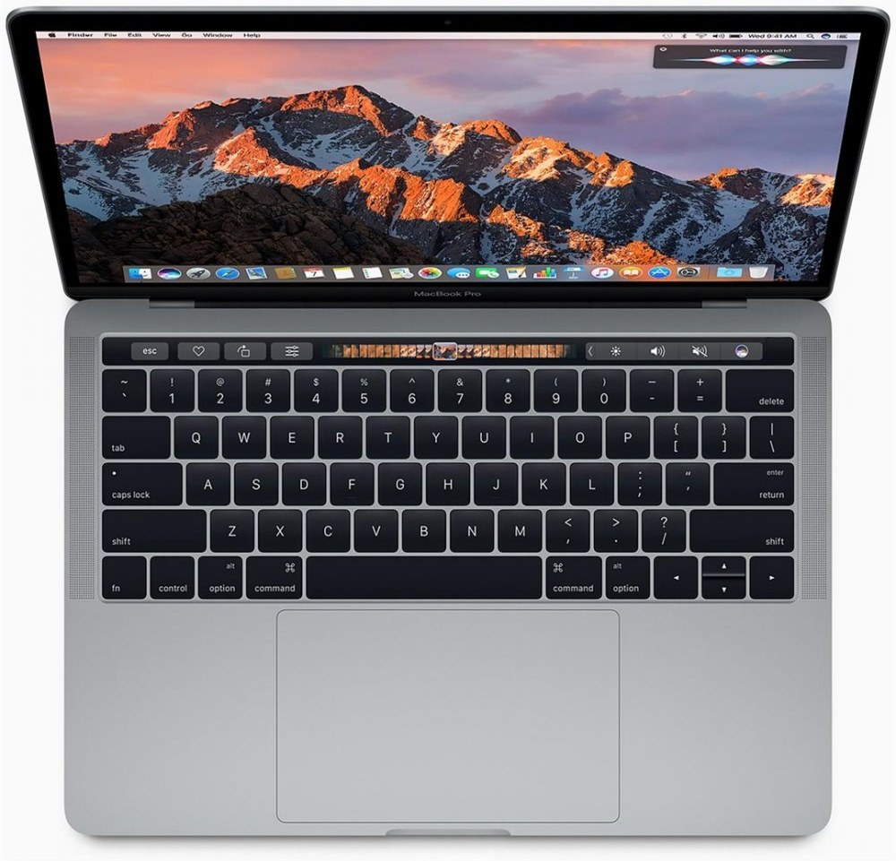 "Apple MacBook Pro, 13"", Retina, Touch Bar, Core i5, 256 GB SSD, strieborný"
