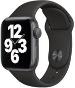 Apple Watch SE GPS, 44 mm, šedo-čierne