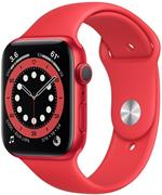 Apple Watch Series 6 GPS, 44mm, červené