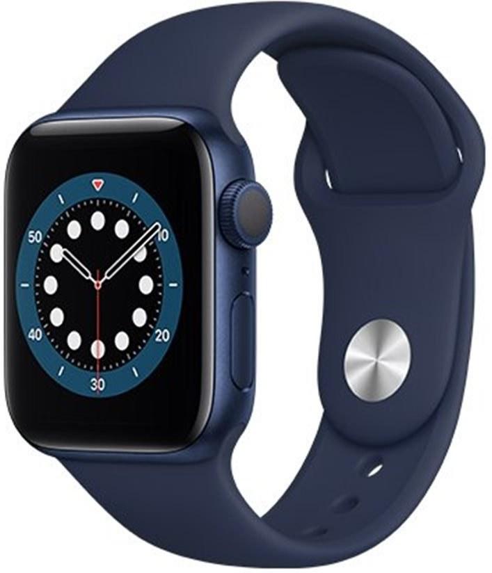 Apple Watch Series 6 GPS, 44mm, modré