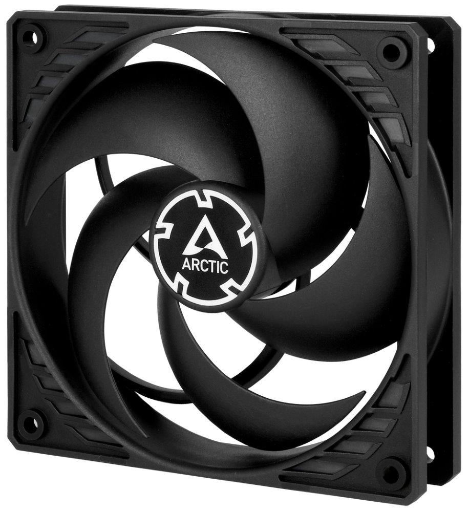 Arctic P12 PWM PST, ventilátor, čierny