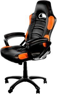 Arozzi ENZO, herná stolička, čierno-oranžová
