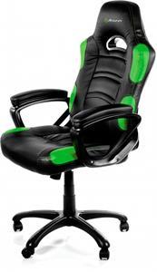Arozzi ENZO, herná stolička, čierno-zelená