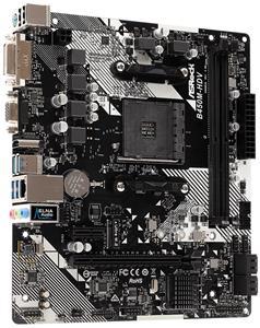 ASRock B450M-HDV R4.0 / AM4 / 2x DDR4 DIMM / HDMI / DVI-D / D-Sub / M.2 / mATX