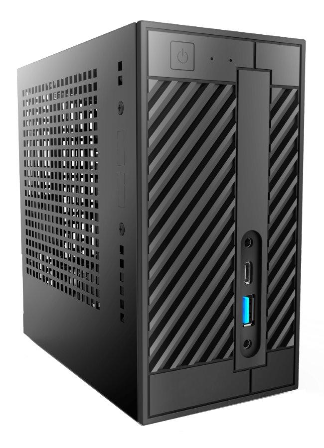 "ASRock DeskMini 310/B/BB / LGA 1151 / H310 / 2x DDR4 SO-DIMM / 2x 2,5"" SATA + 1x M.2 / GLAN / HDMI / VGA / DP / USB Typ"