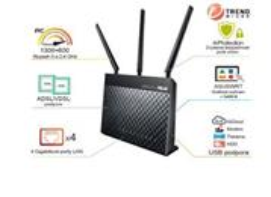 Asus DSL-AC68U AC1900, Dual Band, VDSL2/ADSL, WiFi, USB