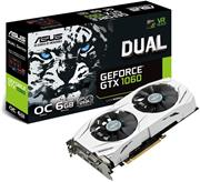 ASUS GeForce DUAL-GTX1060-O6G