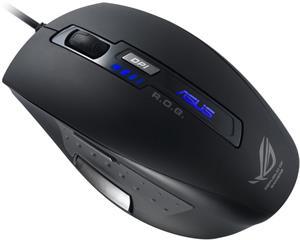 Asus GX850, myš, čierna
