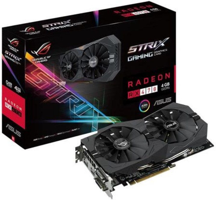 P: Asus Strix RX470 4GB
