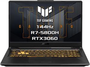 ASUS TUF Gaming FA706QM-HX034T, čierny