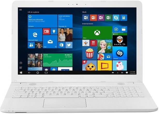 Asus VivoBook X541NA-GQ089T, biely