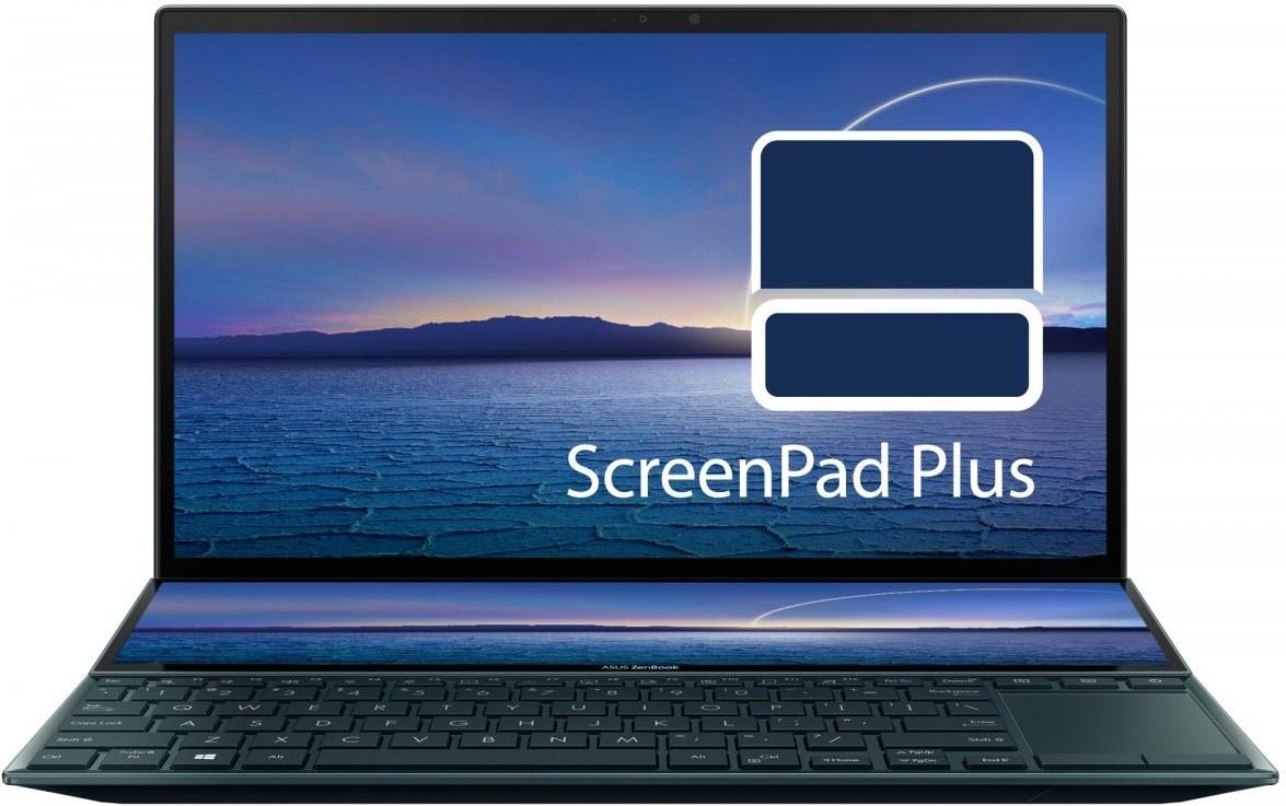 Asus ZenBook Duo UX482EA-HY121T, modrý