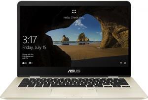 Asus ZenBook Flip 14 UX461FA-E1066T, zlatý, rozbalený