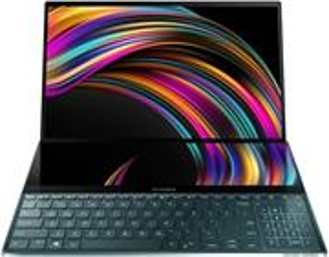 Asus ZenBook Pro Duo UX581LV-H2025R, modrý