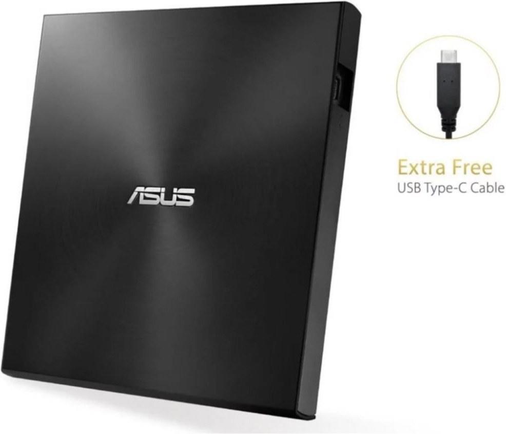 ASUS ZenDrive External Slim DVD-RW, USB-C, Retail, čierna