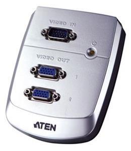 ATEN Video rozbočovač 1PC - 2VGA 250Mhz