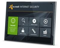 avast! Internet Security 8, 3 užívatelia, 1 rok