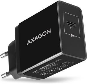 AXAGON ACU-PD22, nabíjačka, čierna