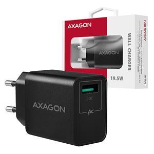 AXAGON ACU-QC, rýchlonabíjačka, čierna
