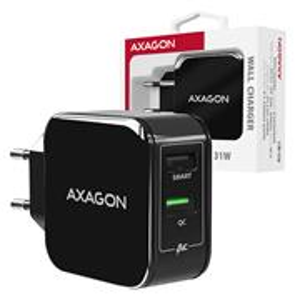 AXAGON ACU-QC5, rýchlonabíjačka, čierna