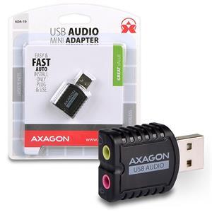 AXAGON ADA-10, externá USB2.0 zvuková karta
