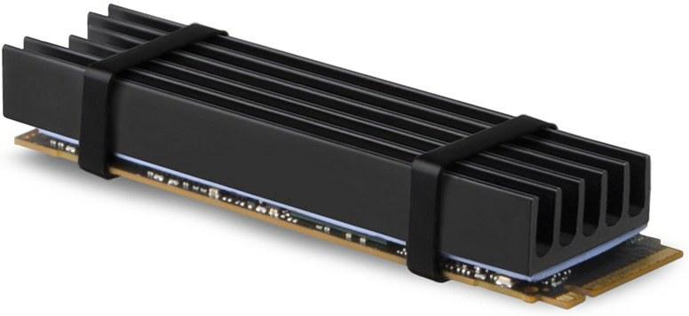 AXAGON CLR-M2L10, pasívny chladič pre SSD