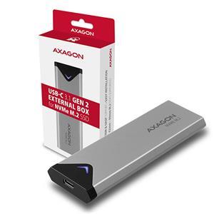AXAGON EEM2-UG2, M.2 NVMe externý box, USB-C 3.2
