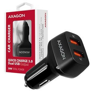 AXAGON PWC-DQC, autorýchlonabíjačka, čierna