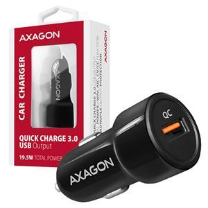 AXAGON PWC-QC, rýchlonabíjačka, čierna