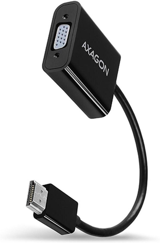AXAGON redukcia HDMI na VGA M/F, káblová 0,2m
