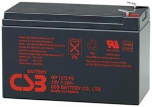 Bateria 12V/7Ah, CSB GP1272 F2, K 6,3 mm