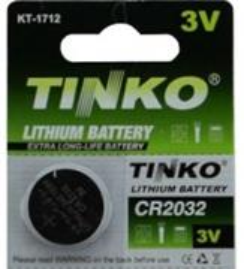 batérie batéria Lithiová, CR2032, 3V, No Name