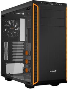 Be quiet! PURE BASE 600 Window, čierno-oranžová