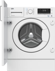 BEKO HITV8733B0 vstavaná práčka so sušičkou