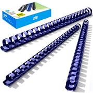 Binding comb 12mm, blue, 100 pcs