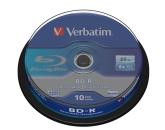 Blu-ray BD-R SL Verbatim 25GB 6x 10-cake
