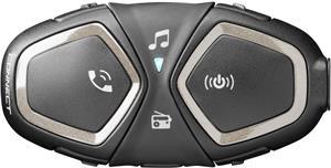 Bluetooth handsfree pre uzavreté a otvorené prilby CellularLine Interphone CONNECT, Single Pack
