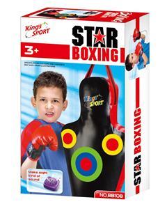 Boxovací mech G21 Star obrys těla se zvukem