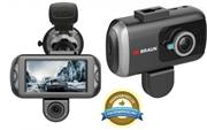 Braun B-Box T7 kamera do auta, duálna (predná/zadná), GPS