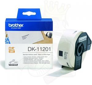 Brother DK-11201, 29x90 mm , papierové, štandardné adresy, 400 ks