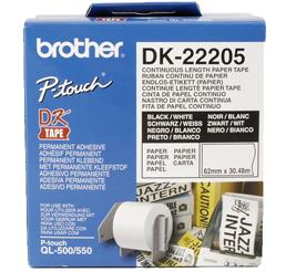 BROTHER DK-22205 (papierová rolka 62mm x 30,48m)