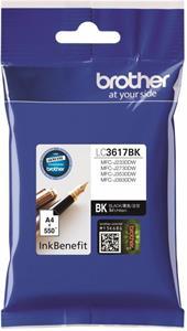Brother LC-3617BK, čierny, 550 strán