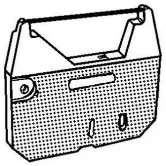 Brother páska pre AX 110, 250, 310, 33, 410, LW 300, WP 70, čierna, textilná, PK142